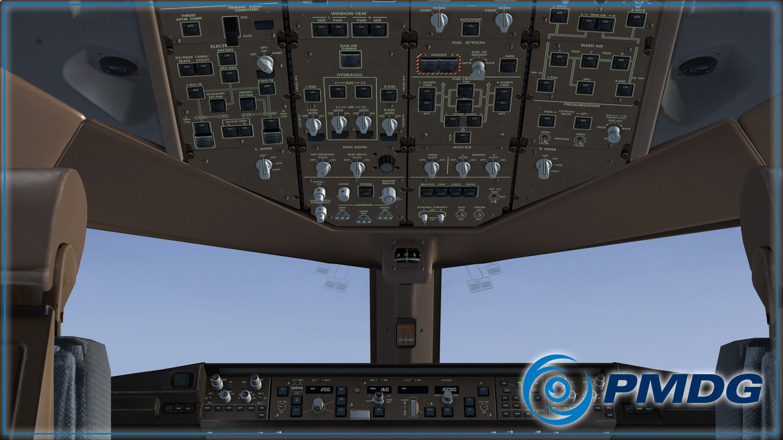 PMDG 777 Virtual Cockpit Will Leave You Speechless - Angle