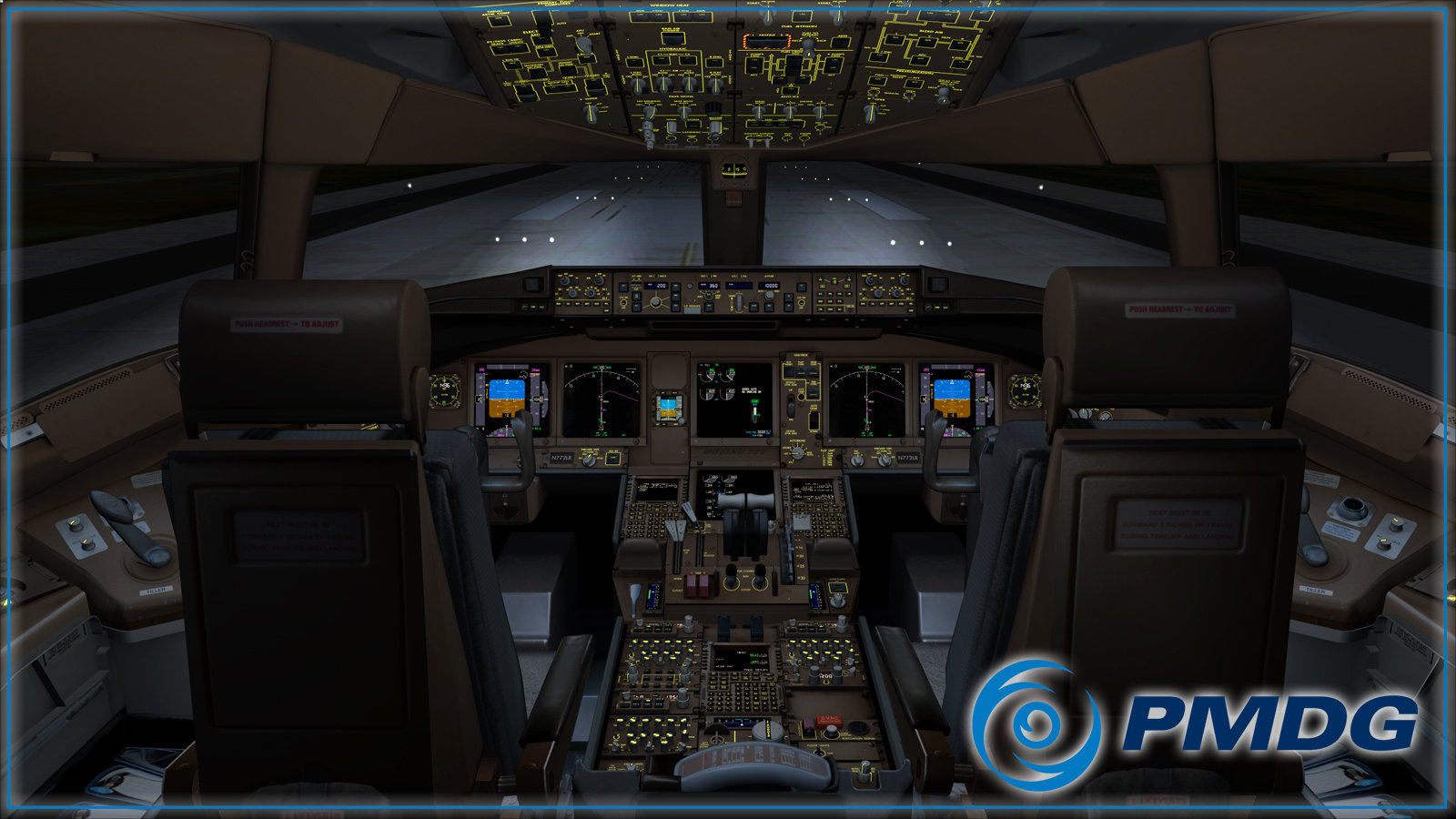 PMDG 777 Virtual Cockpit Will Leave You Speechless